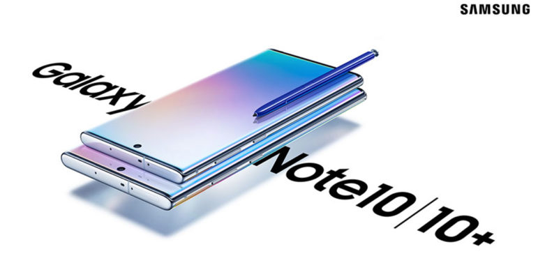 Galaxy Note 10 Plus Officiel Avant S Pen