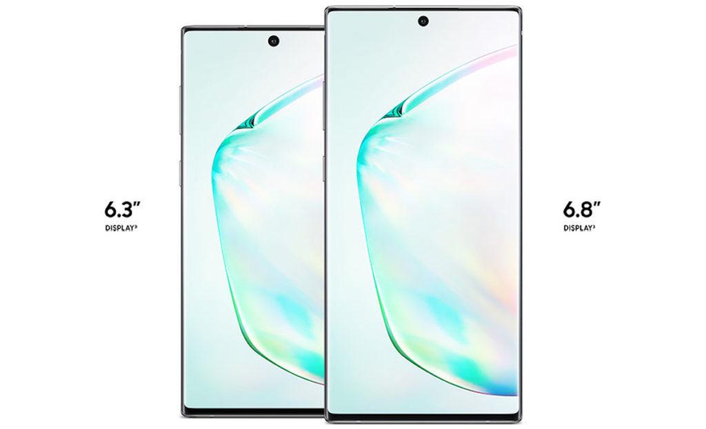 Galaxy Note 10 Et Note 10 Plus Officiel Avant Ecran 1024x622
