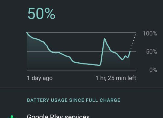 Google Play Services Plombe Autonomie