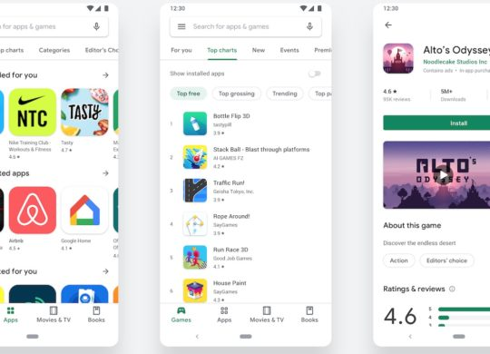 Google Play Store Material Design 2019