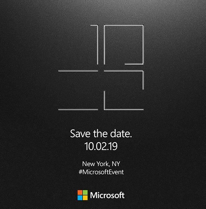 Invitation Conference Microsoft 2 Octobre 2019