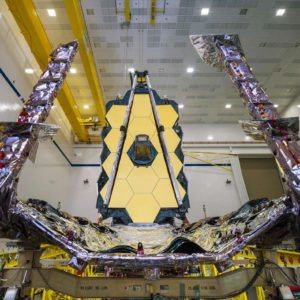 Image article La NASA réussit à déployer le miroir du James Webb Telescope