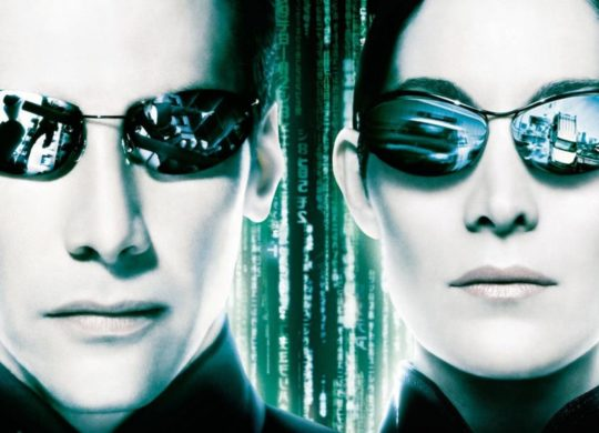 Keanu Reeves et Carrie Anne-Moss Matrix Neo Trinity