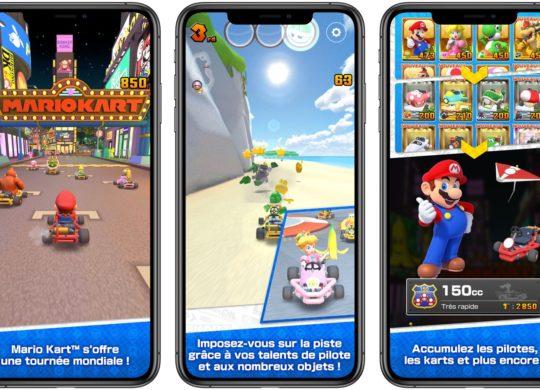 Mario Kart Tour iPhone Decouverte