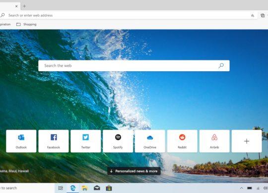 Microsoft Edge Chromium Beta