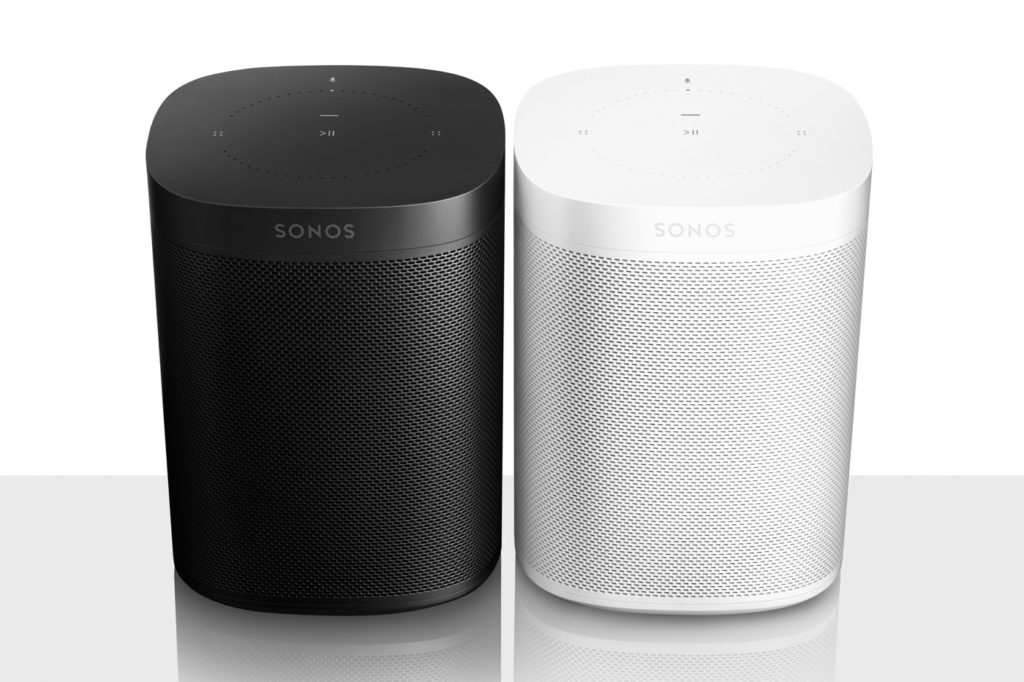 Sonos One Noir Blanc 1024x682