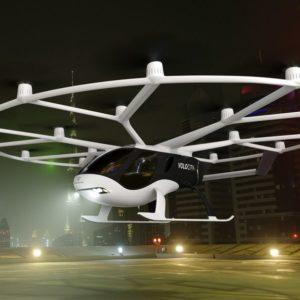 VoloCity : Volocopter présente son premier taxi-volant «commercial»