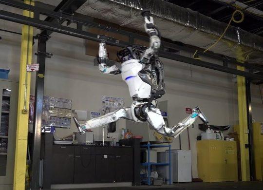 Atlas robot jump