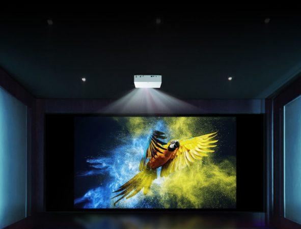 Cinebeam 4K LG 591x450