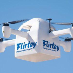 Image article La startup Flirtey dévoile son nouveau drone de livraison, le Flirtey Eagle, et une plateforme de décollage