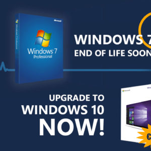 Image article Fin de vie pour Windows 7, Windows 10 à partir de 8,80€ pour vos PC (+ promo Office 2019)