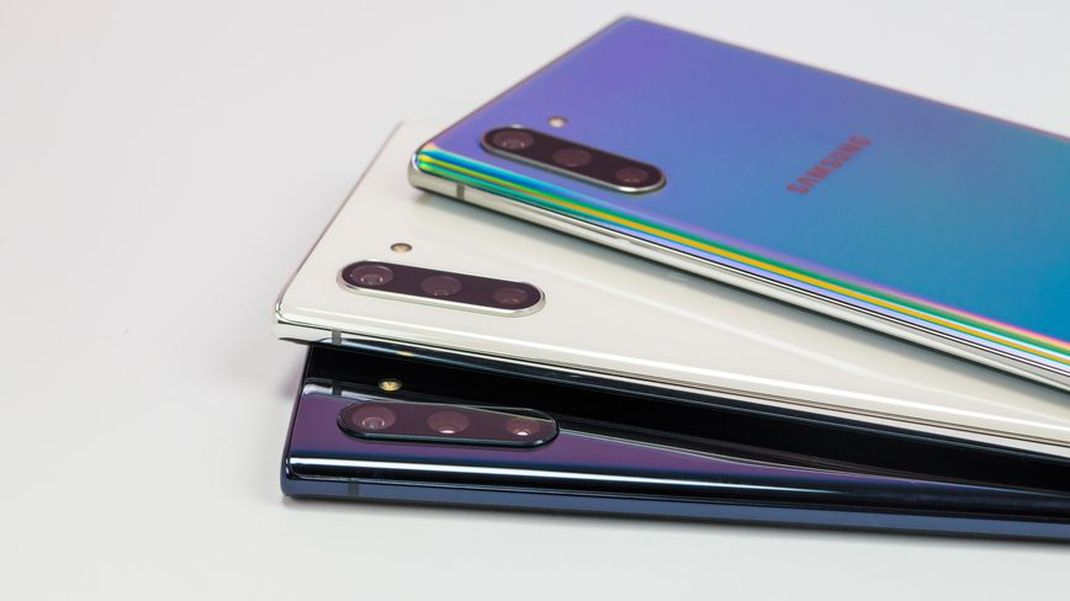 Galaxy Note 10 Coloris