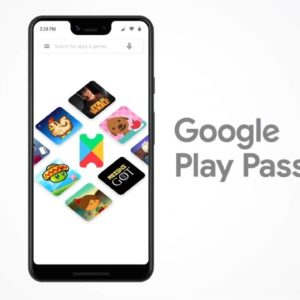Image article Google lance son abonnement Play Pass avec 350 jeux/applications Android