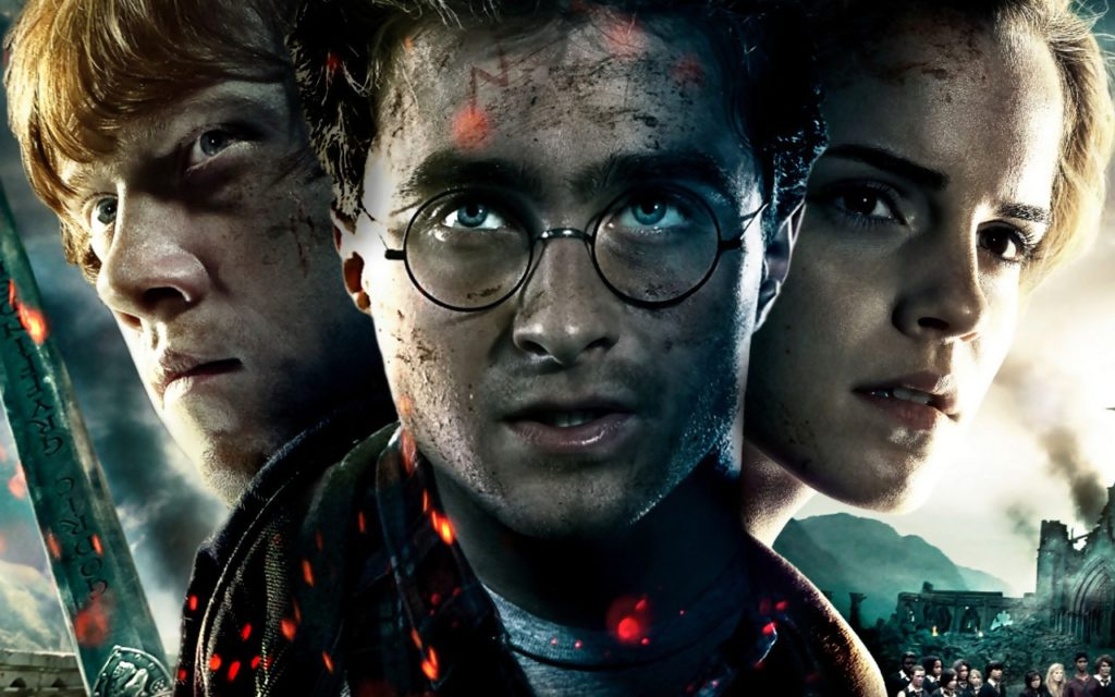 Harry Potter Hermione Ron 1024x640