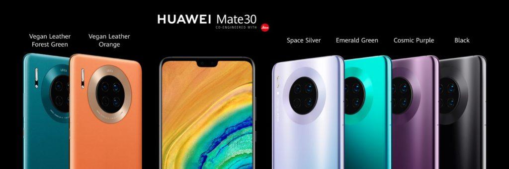 Huawei Mate 30 Avant Arriere 1024x341