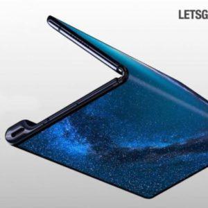 Image article Le Mate X pliable d'Huawei en vente en Chine