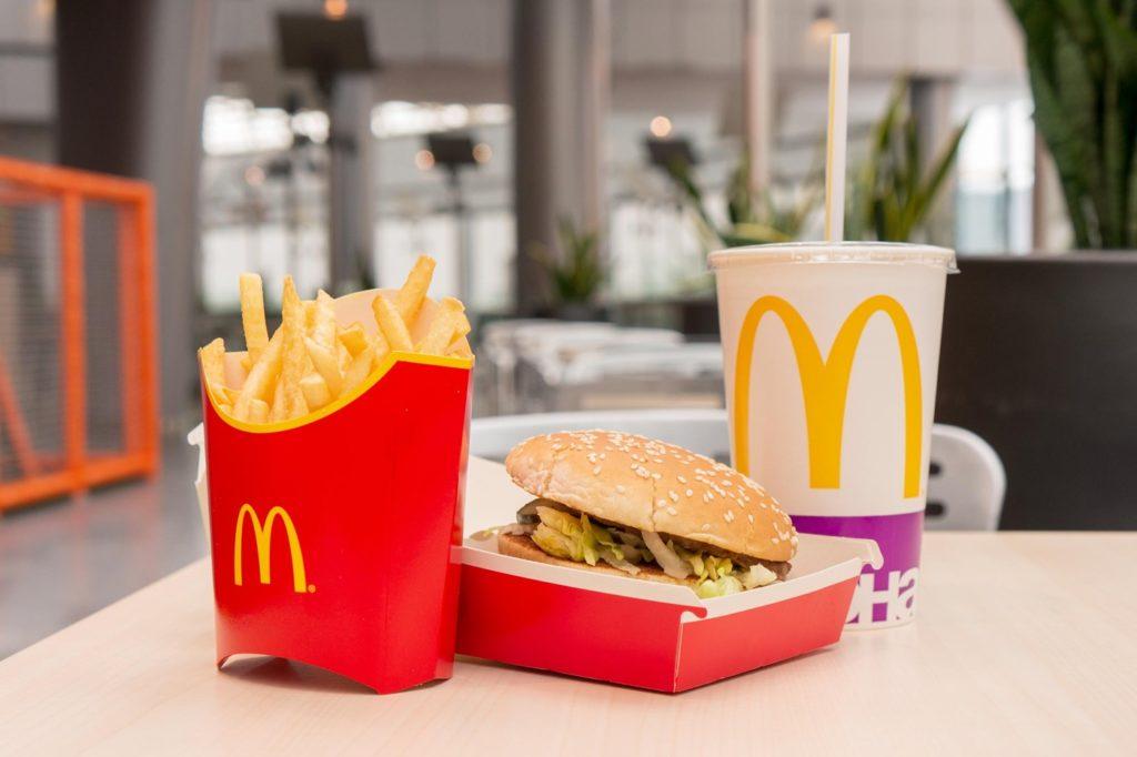 McDonalds Burger Frites Boisson
