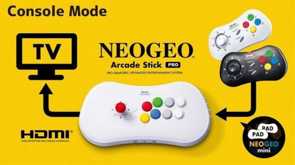 Neo Geo Arcade Stick 1 600x336