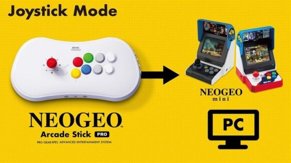 Neo Geo Arcade Stick 600x336