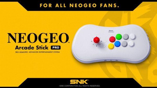 NeoGeo Arcade Stick Pro 600x338