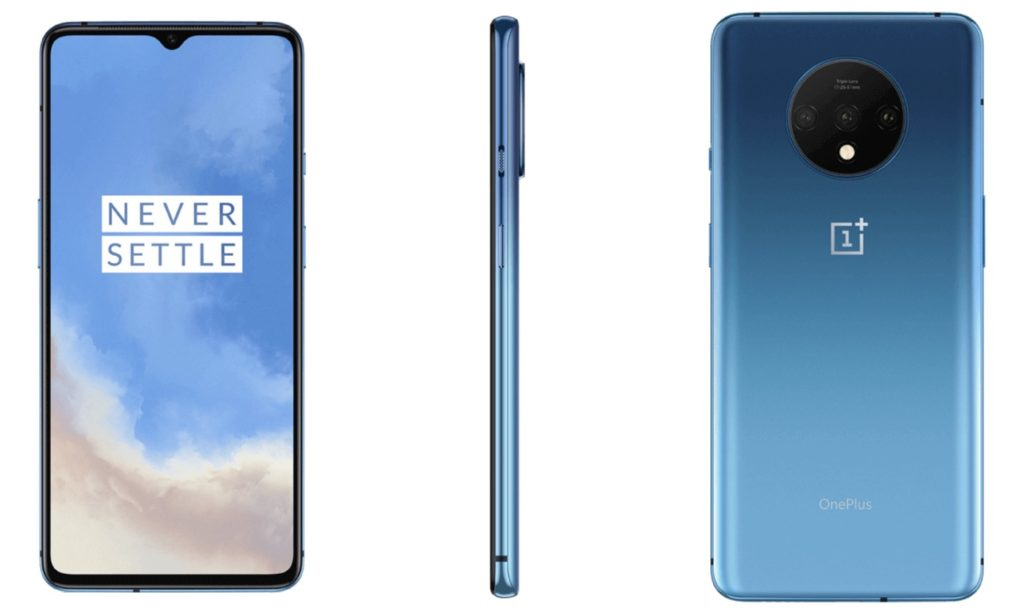 OnePlus 7T Bleu 1024x614