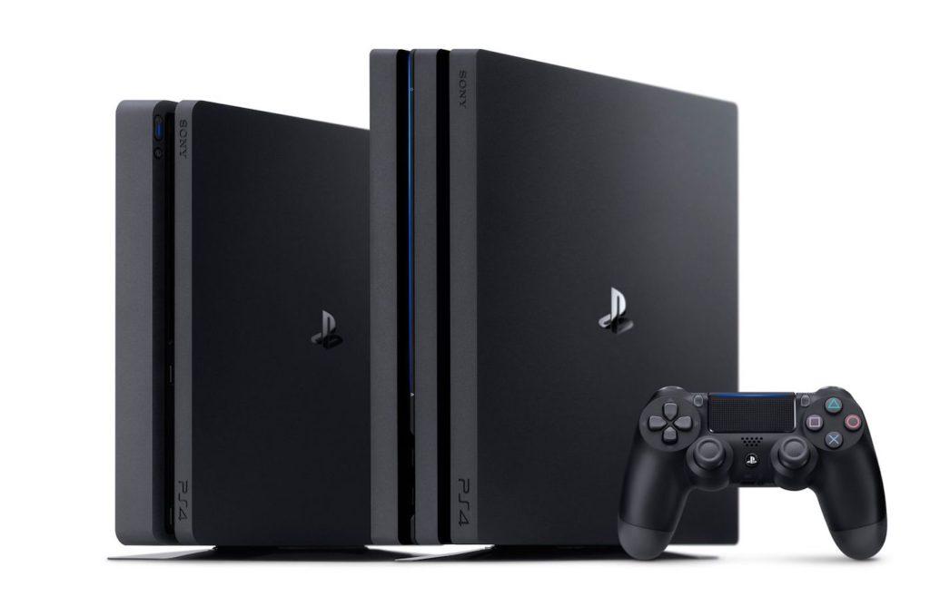 PlayStation 4 Slim Vs PlayStation 4 Pro Et Manette 1024x679