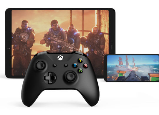 Projet xCloud Smartphone Tablette Manette Xbox One