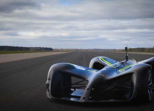 Robocar record de vitesse