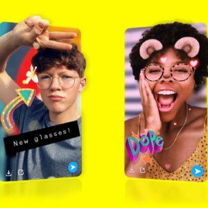 Image article Snapchat ajoute un mode pour faire des photos en 3D