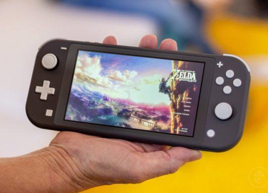 Switch Lite Noire Zelda Breath of the Wild
