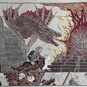 Image article Game of Thrones : Bayeux expose une tapisserie de 87 mètres qui retrace l'intégralité de la saga !
