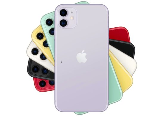 iPhone 11 Arriere Coloris Officiel