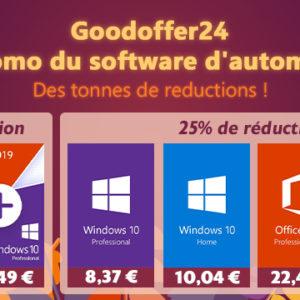 [#Promo] Fin de vie pour Windows 7 dans 3 mois, Windows 10 à 8,80¬ pour vos PC (+ promo Office)