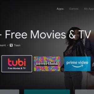 Image article Android TV : le Play Store avec le nouveau design est en cours de déploiement