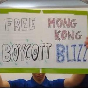 Image article Blizzard sanctionne trois joueurs américains pour leur soutien aux manifestants de Hong-Kong