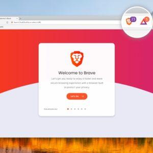 Image article Le navigateur Brave, qui mise sur la confidentialité, revendique 8 millions d'utilisateurs
