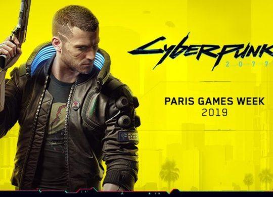 Cyberpunk 2077 Paris Games Week 2019