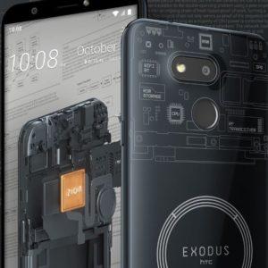 Image article HTC Exodus 1s : le smartphone dédié à la blockchain et aux cryptomonnaies