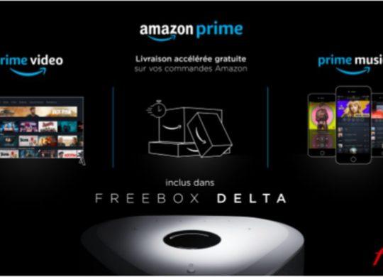 Freebox Delta Amazon Prime