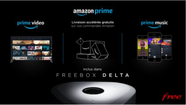 Freebox Delta Amazon Prime 600x339