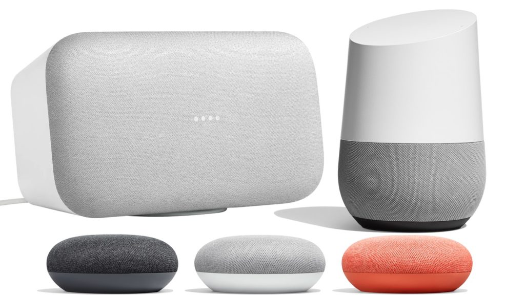 Google Home Vs Home Mini Vs Home Max 1024x576