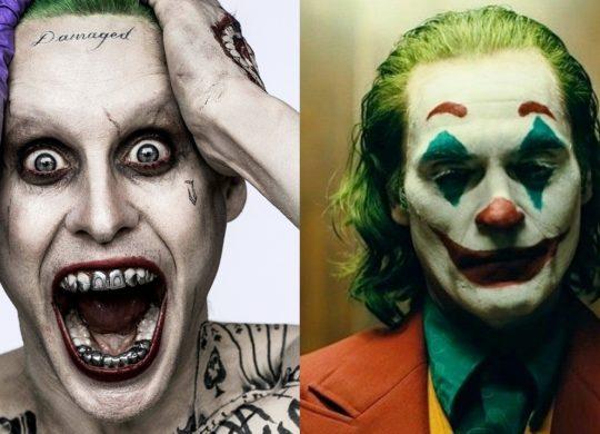 Joker Jared Leto vs Joaquim Phoenix