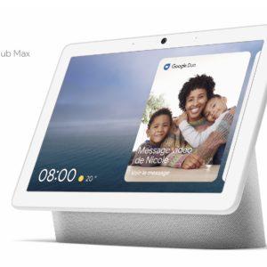 Google annonce la sortie du Nest Hub Max en France (avec un Google Home Mini offert)