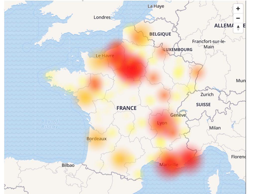 Panne Bouygues Telecom Octobre 2019 1024x779