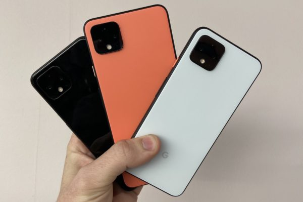 Pixel 4 Arriere Noir Vs Orange Vs Blanc 600x399