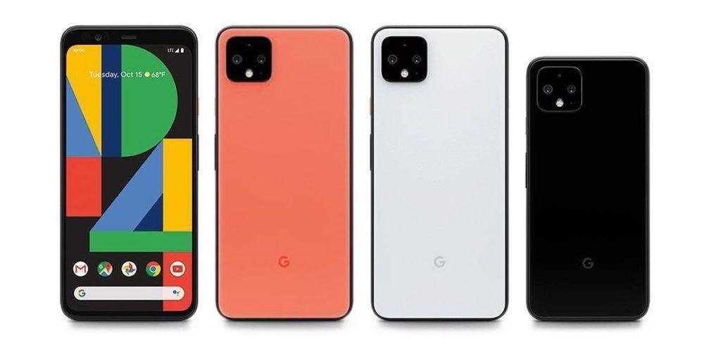 Pixel 4 Et Pixel 4 XL Avant Arriere Coloris 1024x513
