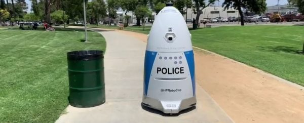 Police Robot Los Angeles 600x243