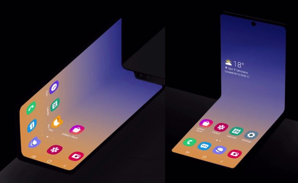 Samsung Smartphone Nouveau Format Pliable 1024x631