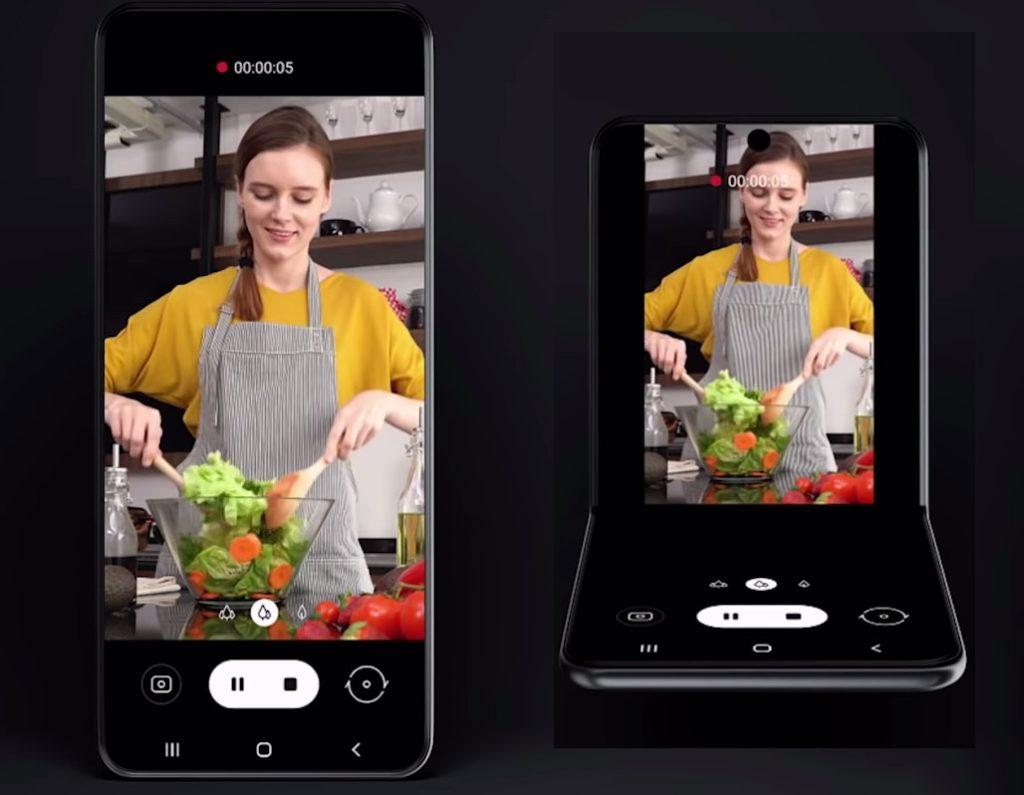 Samsung Smartphone Nouveau Format Pliable Interface Adaptee 1024x795