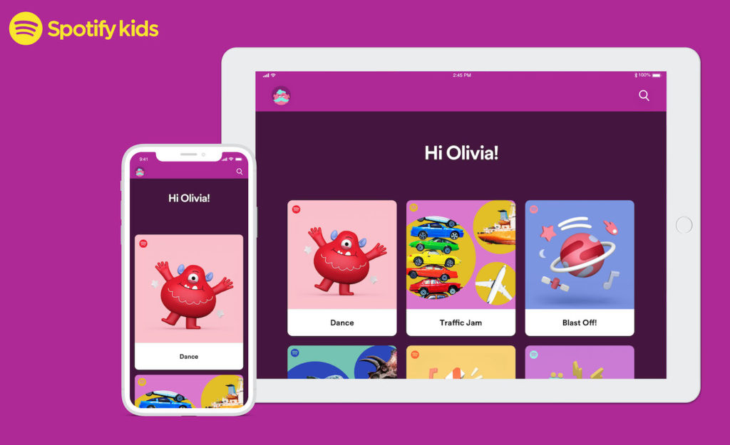 Spotify Kids Application 1024x625